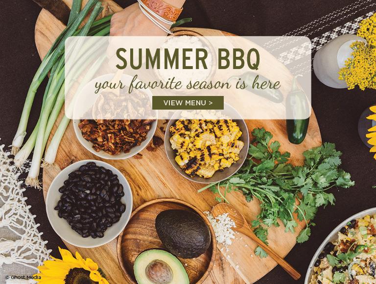 View the summer BBQ menu