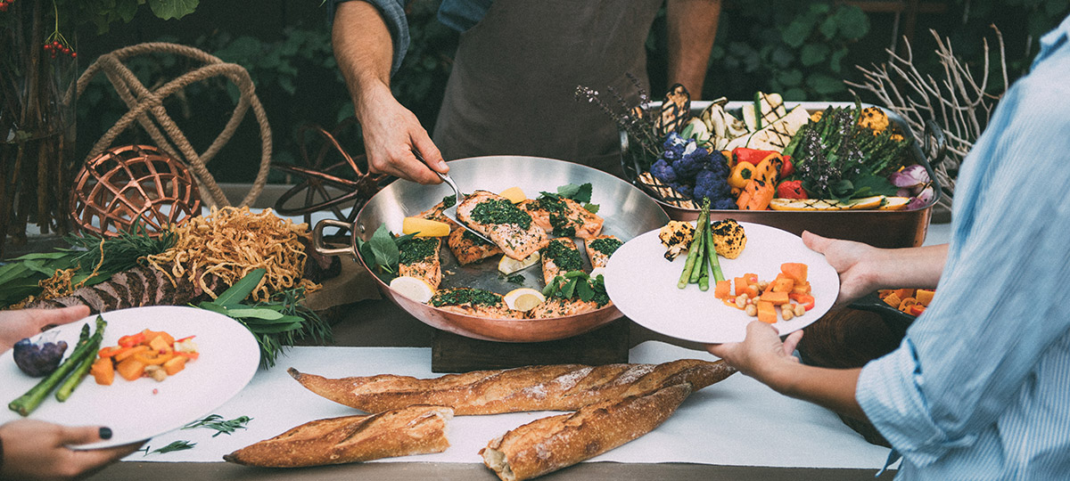Pasadena Catering Menus The Kitchen For Exploring Foods