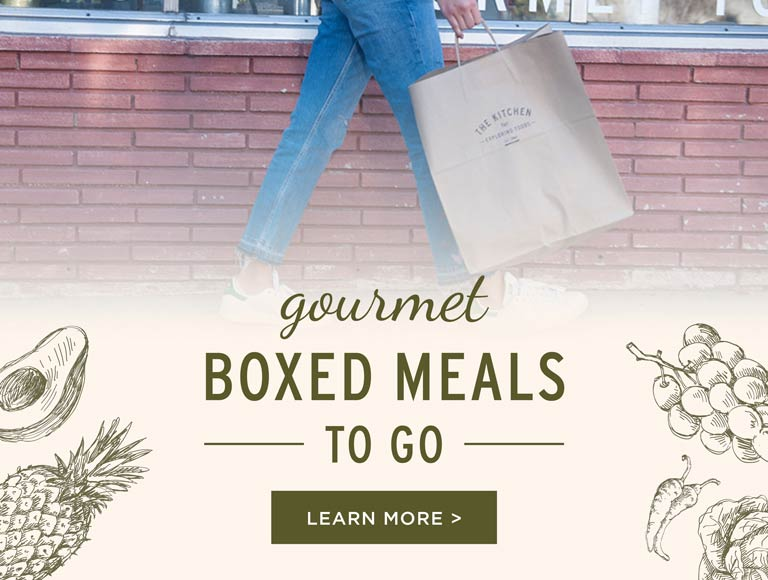 Gourmet Boxed Meals To Go, California