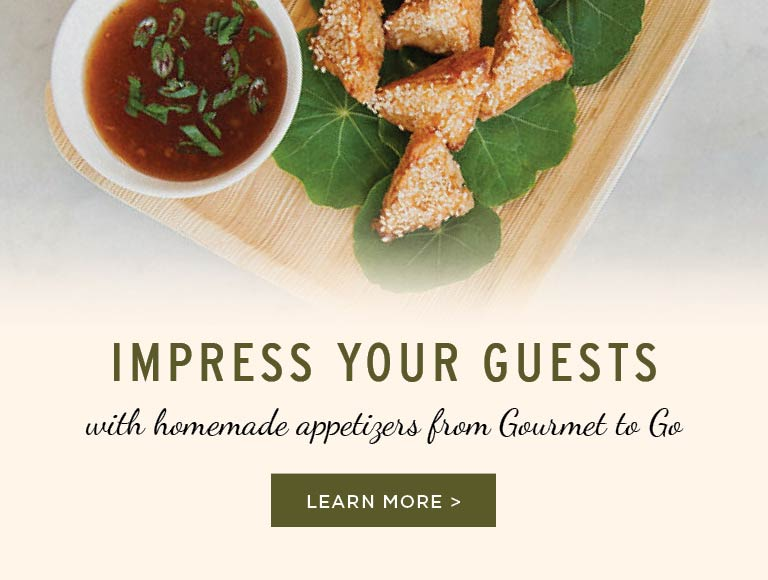 Homemade Appetizers For All Occasions, View Menus