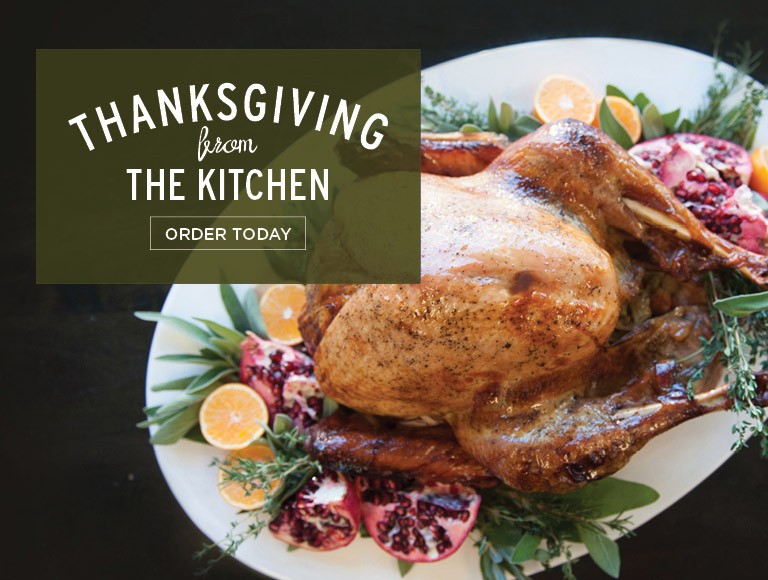 Order Today | Thanksgiving from The Kitchen