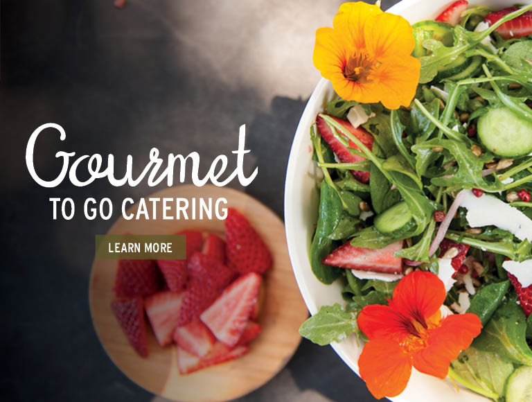 Gourmet-to-go Catering | Learn More