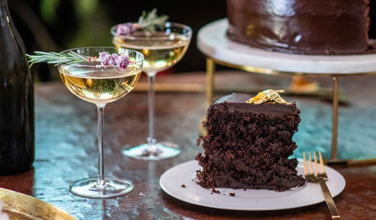 Cocktails & Chocolate Cake | Learn More About Holiday Planning with The Kitchen For Exploring Foods