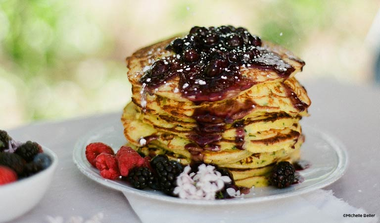 Pancakes, Let The Kitchen For Exploring Foods Cater Your Rose Parade 2019 Party