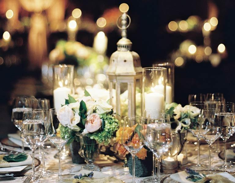 elegant wedding dinners