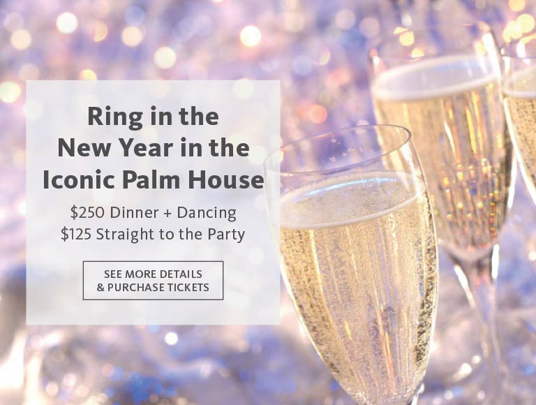 View details and reserve to Ring in the New Year at the Palm House, Brooklyn Botanic Garden